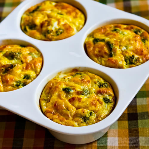 Baked Mini-Frittata With Mushrooms, Cottage Cheese, And ...