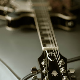 My Epiphone Guitar by Dedik Dwi Nugroho - Artistic Objects Musical Instruments