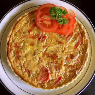 Cheese And Tomato Herb Quiche