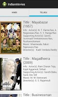 Screenshot of Indian Movies