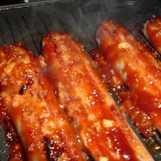 Beef Sausages With Smoky BBQ Glaze