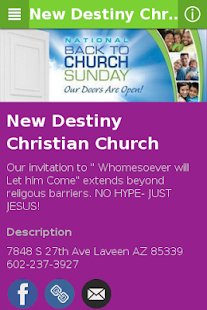 New Destiny Christian Church - screenshot
