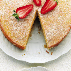 Strawberry And Polenta Shortcake