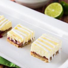 Strawberry White Chocolate Cheesecake Bars Recipe | Yummly