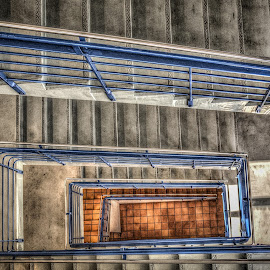 Stuff 002 by IP Maesstro - Buildings & Architecture Architectural Detail ( building, stairs, hdr, symmetry, maesstro, norway )