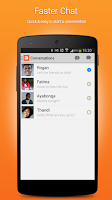Screenshot of Mxit