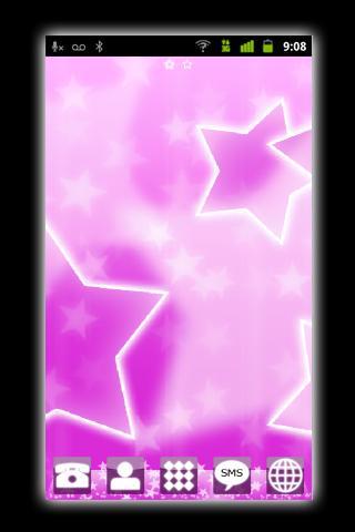 Pink Stars – GO Launcher EX