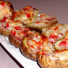 Tex Mex Stuffed Potato Skins