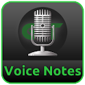 Voice Notes & Alarms recorder icon