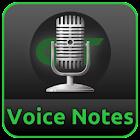 Voice Notes & Alarms recorder icon