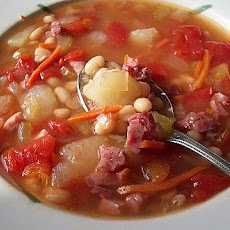 Kathy's Ham and Bean Soup