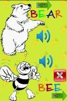 Screenshot of Kids alphabet Animals FREE