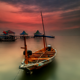 favorite boats by Ahmad Sahroni - Transportation Boats ( indonesian, kenjeran, boats, fisherman, surabaya )