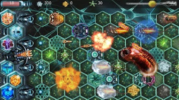 Screenshot of Cell Planet Tower Defender