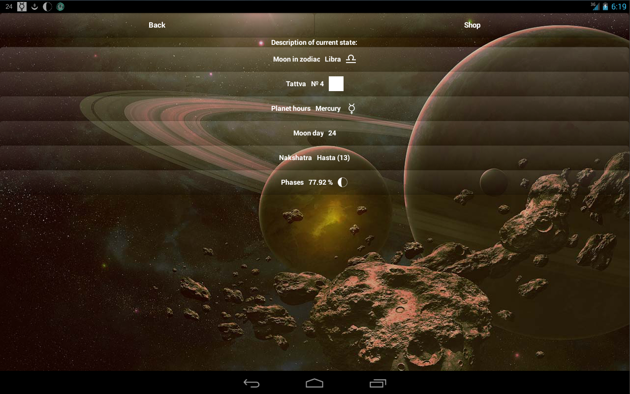 Lunar Calendar Screenshot 11