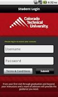Screenshot of CTU Mobile – Phone