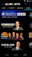Screenshot of NBC News
