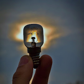 Personal lightning by Jesus Giraldo - Artistic Objects Other Objects ( hand, concept, art, inspirational.., beauty, light )
