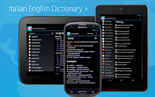 Screenshot of Italian English Dictionary +