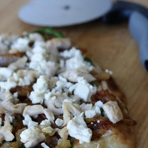 10 Best Caramelized Onion Flatbread Pizza | Pizza Dough, French Onion ...