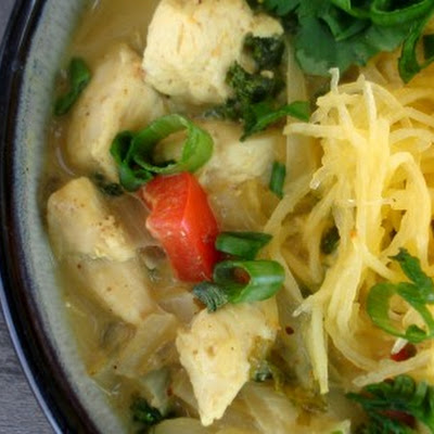 Chicken Coconut Curry Noodle Bowl