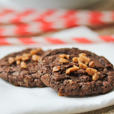 Toffee Brownie Cookies