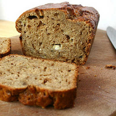 Banana, Walnut and White Chocolate Loaf