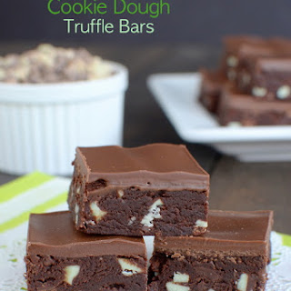 Andes Mint Cookie Dough Truffle Bars