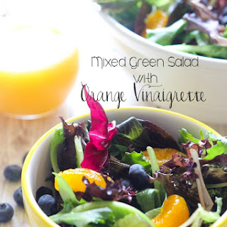 Mixed Green Salad With Blueberries Recipes