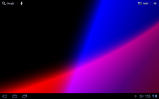 Screenshot of Chroma Wave Live Wallpaper