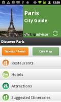 Screenshot of City Guides Catalog