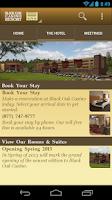 Screenshot of Black Oak Casino Resort
