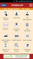 Screenshot of Citizen COP