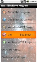 Screenshot of BSA STEM/Nova Program