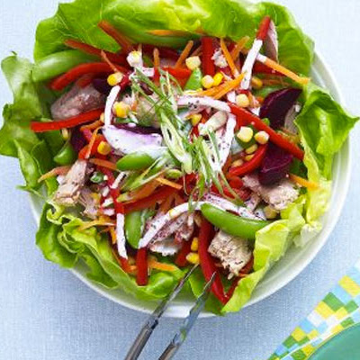 Tuna Rainbow Salad