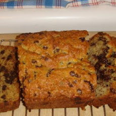 Banana-Chocolate Chip Loaf