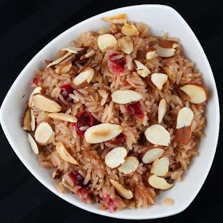 Cranberry Rice Pilaf With Almonds Recipes