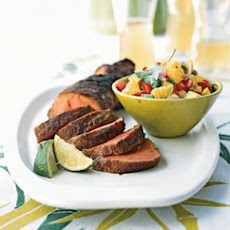 Spicy Pork Tenderloins with Uniq Fruit Salsa