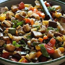 Ratatouille With Chickpeas -- Crock-Pot