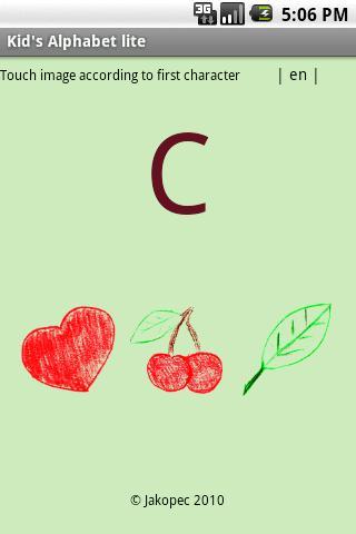 Kid's Alphabet lite