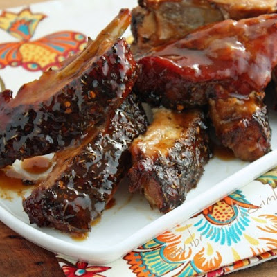 Jerk BBQ Ribs (Low Carb and Gluten Free)