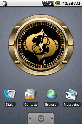 PISCES - Zodiac Clock
