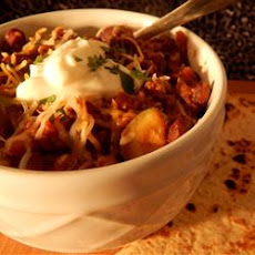 West Texas-Style Buffalo Chili