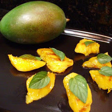 Grilled Mangoes With Ginger