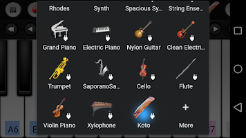 Screenshot of Koto Sound Plugin