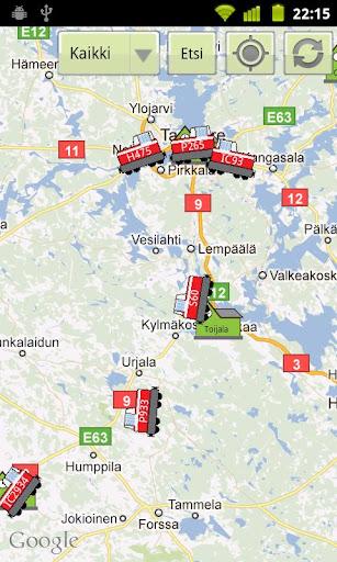 RailTrack train map