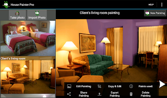 Screenshot of House Painter Pro