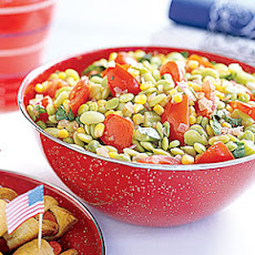 Uncle Sam Tomato Succotash