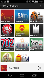 RADIO SOUTH AFRICA PRO - screenshot