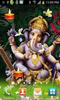 Screenshot of Shri GANESHA HQ Live Wallpaper